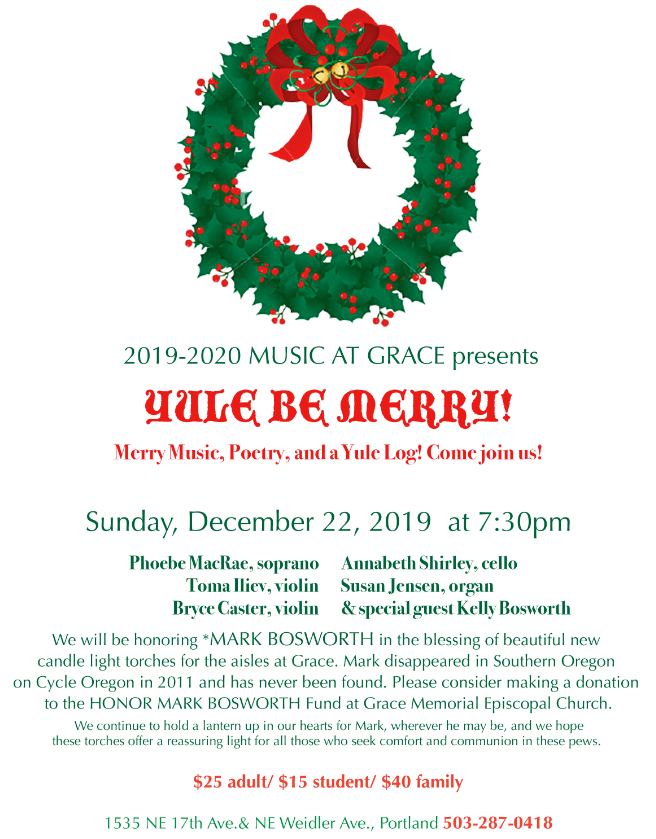 Yule Be Merry flyer